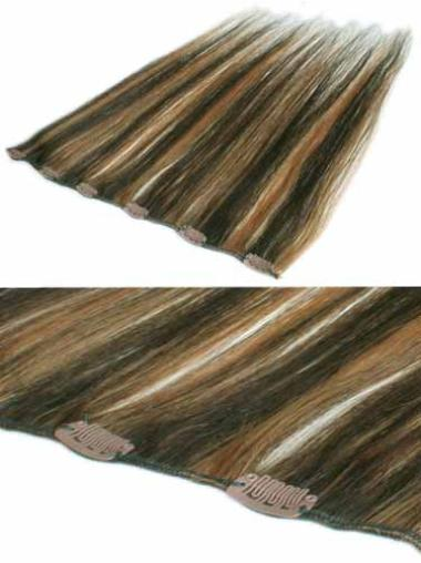 Remy Human Hair Straight Preferential Clip in Hair Extensions