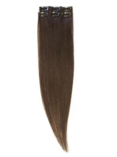 Remy Human Hair Straight Tempting Clip in Hair Extensions