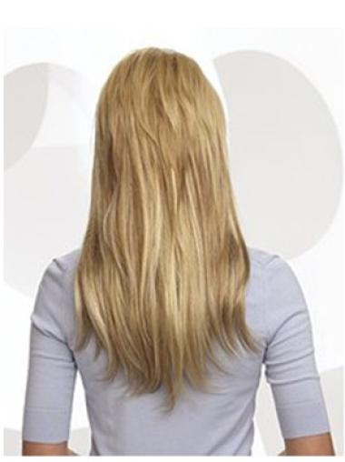 Remy Human Hair Blonde Fashion Clip in Hair Extensions