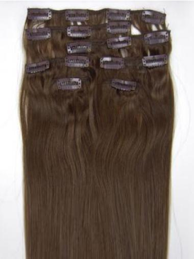Remy Human Hair Straight Wholesome Clip in Hair Extensions