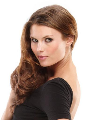 Synthetic Wavy Brown Fabulous Clip in Hair Extensions