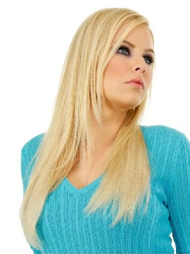 Blonde Straight Sassy Clip in Hair Extensions