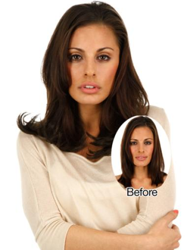 Remy Human Hair Straight Beautiful Clip in Hair Extensions