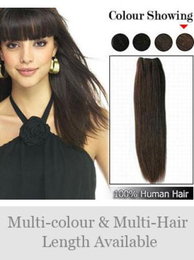 Remy Human Hair Brown Hairstyles Weft Extensions