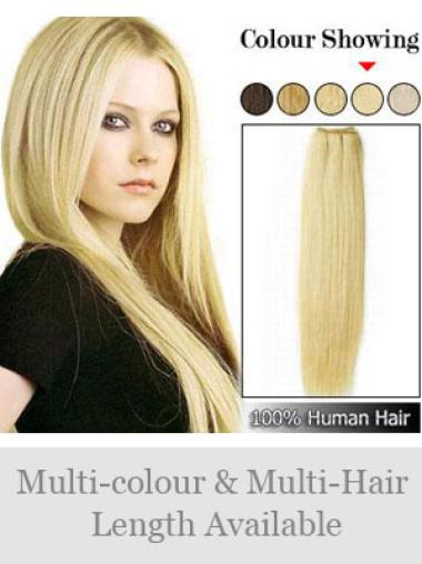 Remy Human Hair Blonde Exquisite Weft Extensions