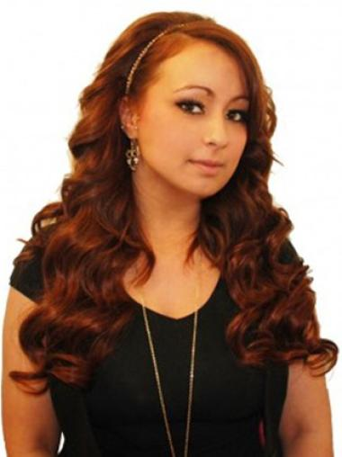 Remy Human Hair Auburn Fabulous Tape in Hair Extensions