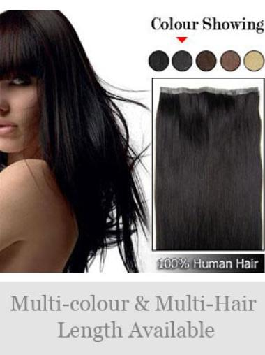 Remy Human Hair Black Flexibility Tape in Hair Extensions