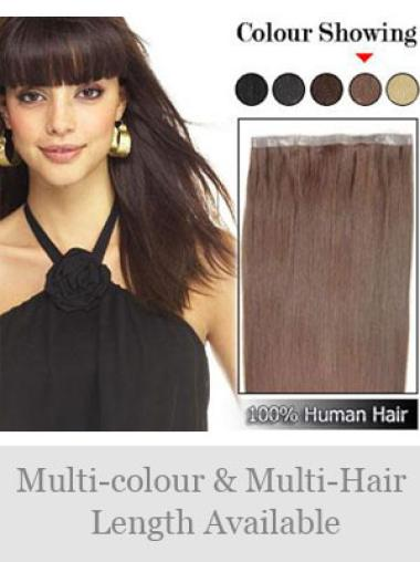 Remy Human Hair Auburn Discount Tape in Hair Extensions