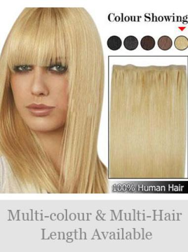 Remy Human Hair Blonde No-fuss Tape in Hair Extensions