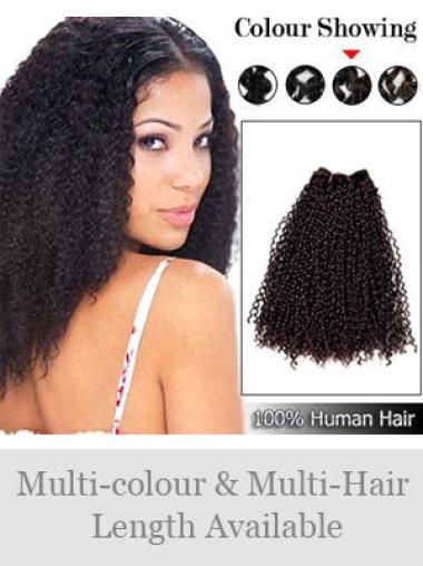 Remy Human Hair Brown Good Weft Extensions