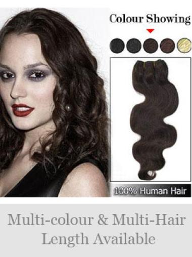 Remy Human Hair Brown High Quality Weft Extensions