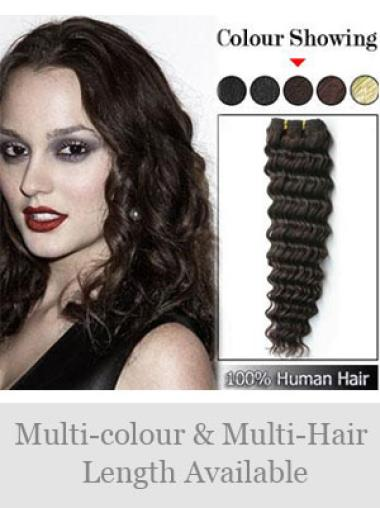Remy Human Hair Brown Ideal Weft Extensions