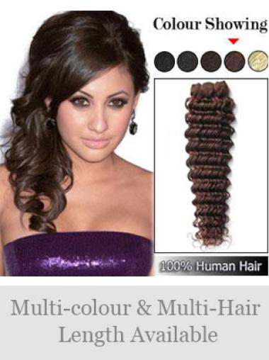 Remy Human Hair Auburn Preferential Weft Extensions