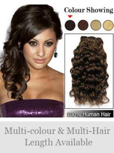 Remy Human Hair Brown Flexibility Weft Extensions