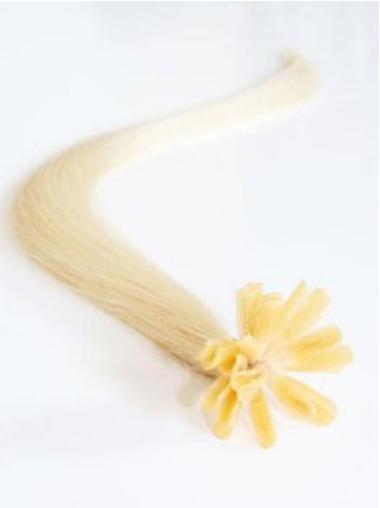 Remy Human Hair Straight Convenient Nail-U Tip Hair Extensions