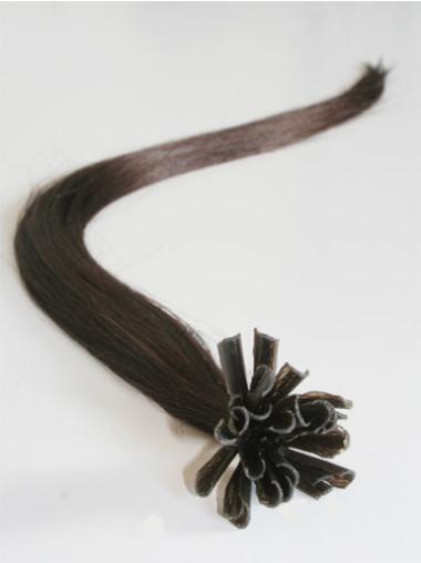 Remy Human Hair Straight Good Nail-U Tip Hair Extensions