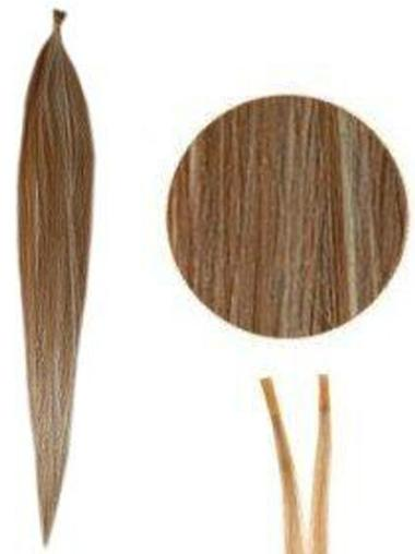 Hairstyles Brown Synthetic Stick-I Tip Hair Extensions