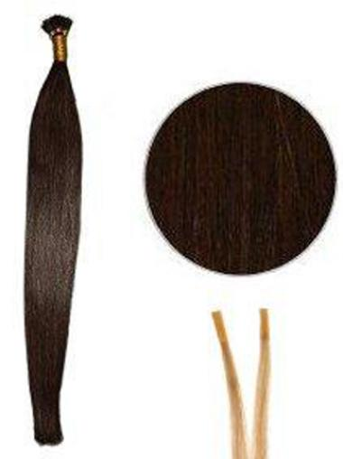 Affordable Auburn Synthetic Stick-I Tip Hair Extensions