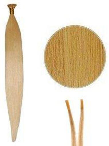 Incredible Blonde Synthetic Stick-I Tip Hair Extensions