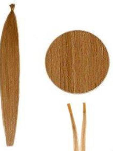 Unique Auburn Synthetic Stick-I Tip Hair Extensions