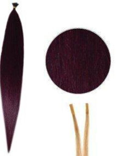 Ideal Red Synthetic Stick-I Tip Hair Extensions