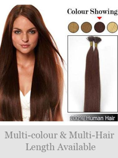 Amazing Auburn Remy Human Hair Stick-I Tip Hair Extensions