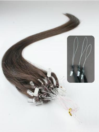 Remy Human Hair Brown Discount Micro Loop Ring Hair Extensions