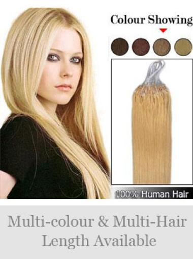 Remy Human Hair Blonde Affordable Micro Loop Ring Hair Extensions