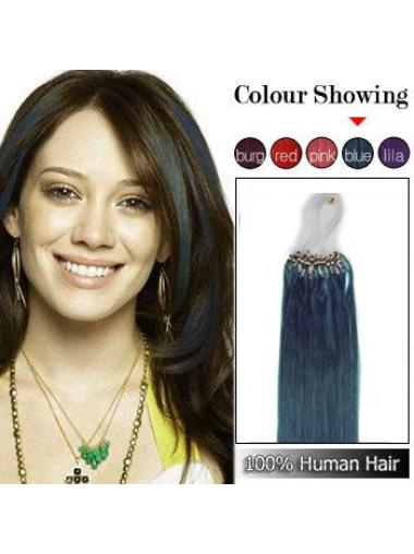 Remy Human Hair Black Tempting Micro Loop Ring Hair Extensions