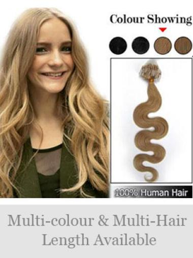 Remy Human Hair Blonde Beautiful Micro Loop Ring Hair Extensions