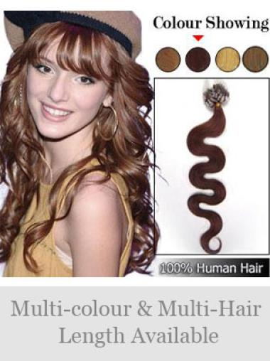 Remy Human Hair Auburn Wholesome Micro Loop Ring Hair Extensions