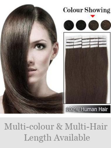 Remy Human Hair Brown Gorgeous Weft Extensions