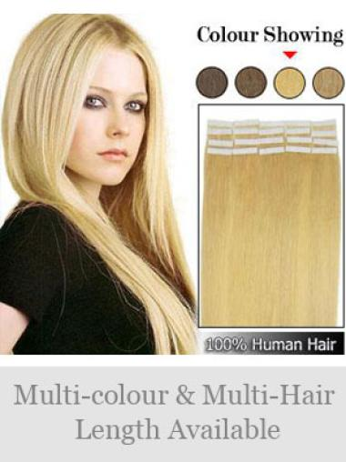 Remy Human Hair Blonde Hairstyles Tape in Hair Extensions