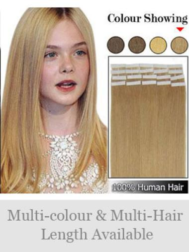 Remy Human Hair Blonde Natural Tape in Hair Extensions