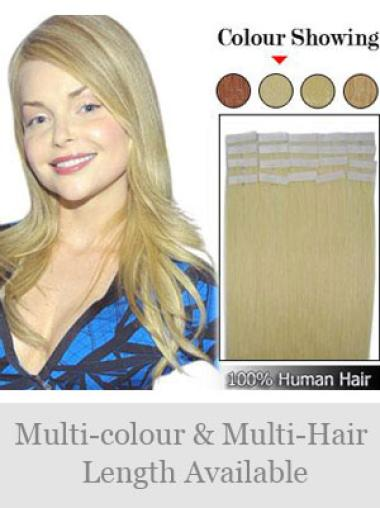 Remy Human Hair Blonde Incredible Tape in Hair Extensions