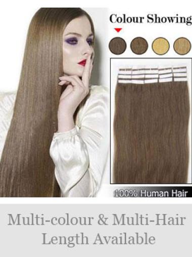 Remy Human Hair Brown Suitable Tape in Hair Extensions