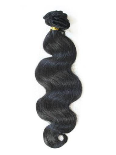Remy Human Hair Black Good Tape in Hair Extensions