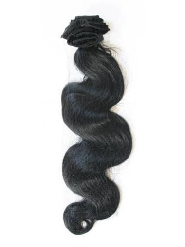 Remy Human Hair Black Gorgeous Tape in Hair Extensions