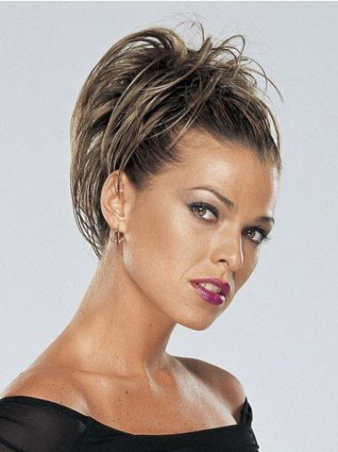 Online Brown Straight Clip in Hairpieces