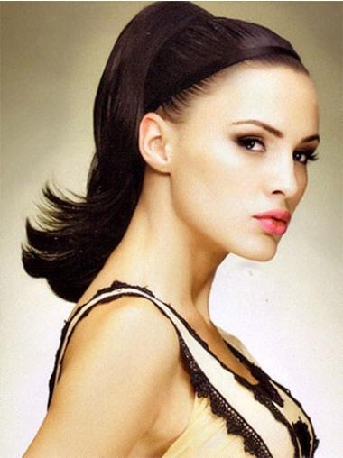 Graceful Auburn Straight Clip in Hairpieces