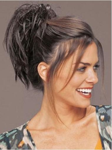 Refined Brown Straight Clip in Hairpieces