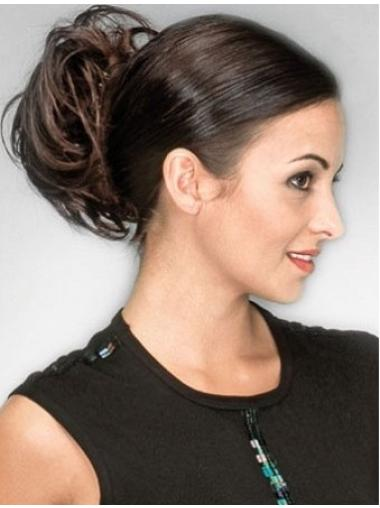 Sassy Brown Wavy Short Clip in Hairpieces
