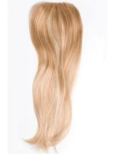 Affordable Blonde Straight Long Clip in Hairpieces