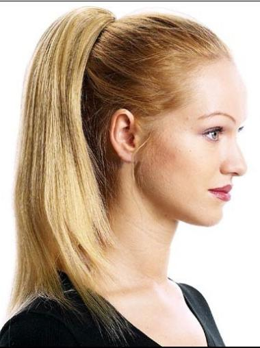 Blonde Straight Ponytails Hairpieces