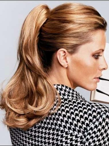 Synthetic Long Brown Stylish Ponytails