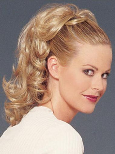 Best Blonde Curly Ponytails Hairpieces