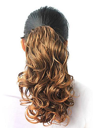 Exquisite Blonde Wavy Ponytails Hairpieces