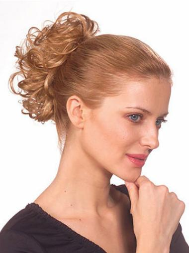 Discount Blonde Wavy Short Ponytails Hairpieces