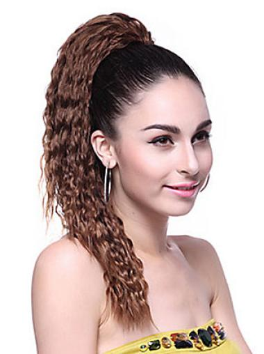 Good Brown Wavy Long Ponytails Hairpieces