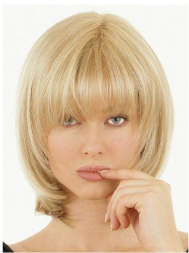 Fabulous Blonde Straight Hair Falls & Half